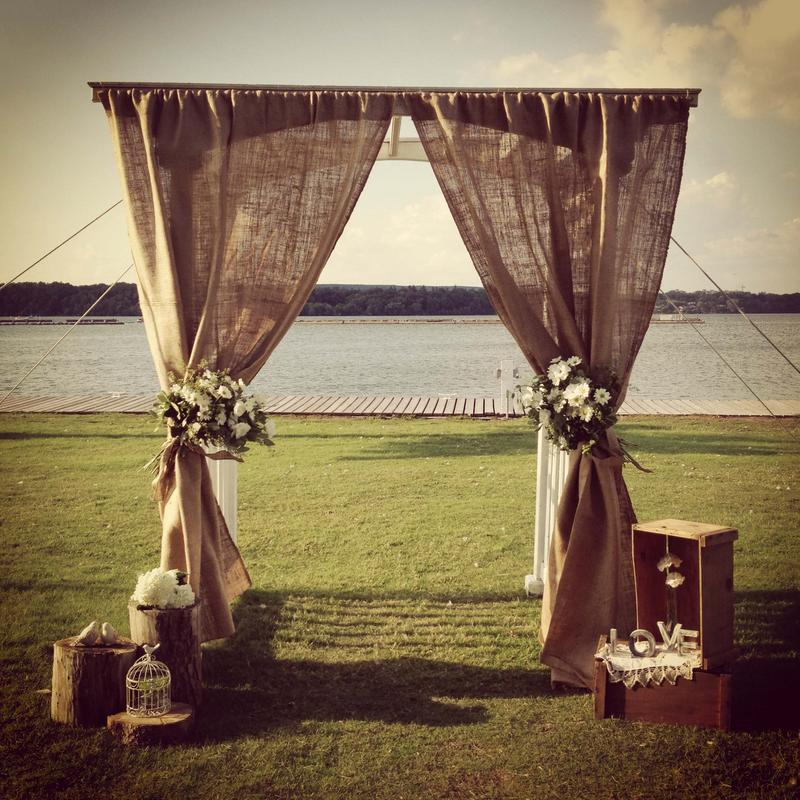 Pipe Drape From Always Invited Event Rentals